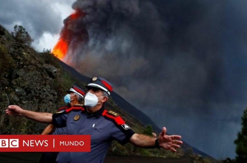 La Palma: las impresionantes imágenes de la erupción del volcán Cumbre Vieja en las islas Canarias