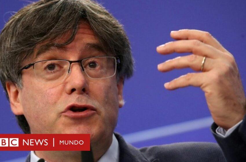 Carles Puigdemont: liberan al expresidente de Cataluña tras pasar unas horas detenido en Cerdeña