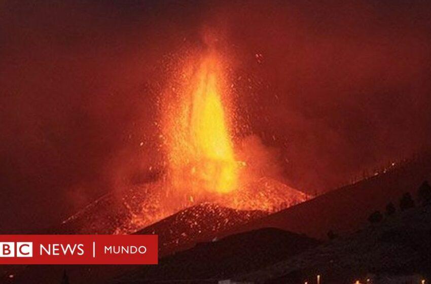 Volcán de La Palma: 4 gráficos e imágenes que muestran el impacto de Cumbre Vieja, que aumentó su explosividad