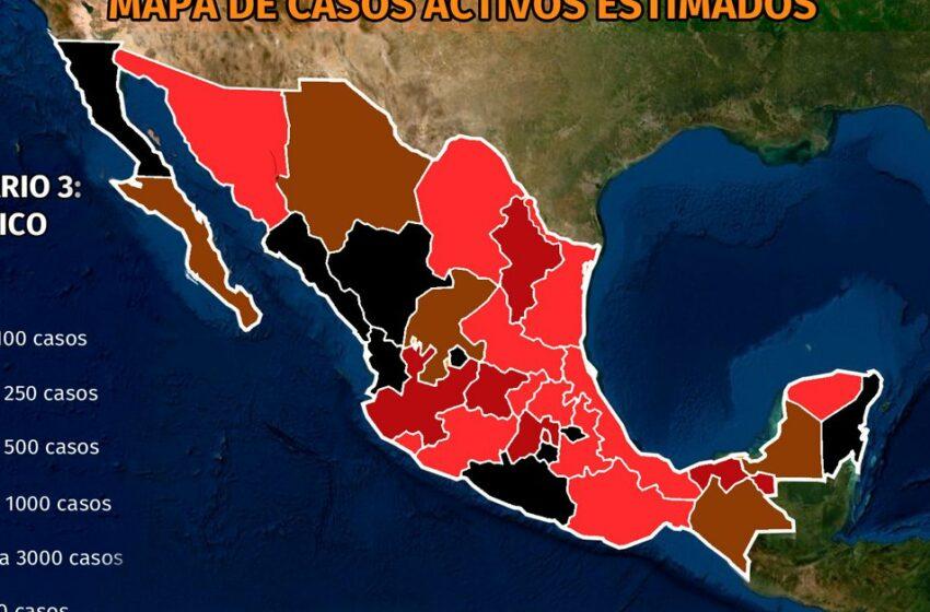 Mapa del coronavirus en México al 26 de septiembre: con casi 600 muertes en un día, el … – Infobae