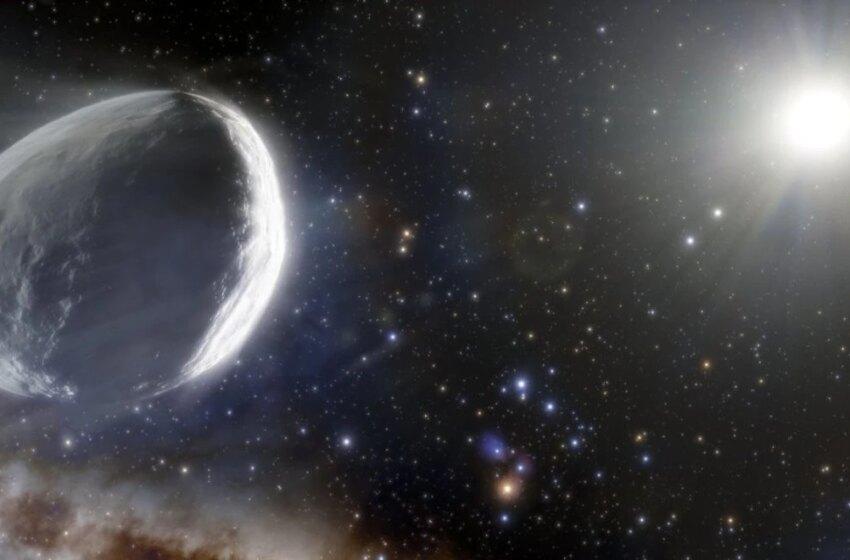 Megacometa que está entrando al sistema solar es casi siete veces más grande que Fobos