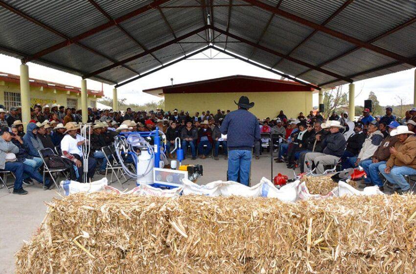 Gobierno capitalino reactivó el desarrollo rural – Plano Informativo
