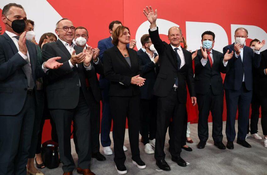 Socialdemócratas encabezan las elecciones de Alemania, según primeras encuestas