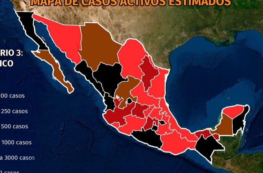 Mapa del coronavirus en México 25 de septiembre: Tabasco y Colima superaron a la CDMX …