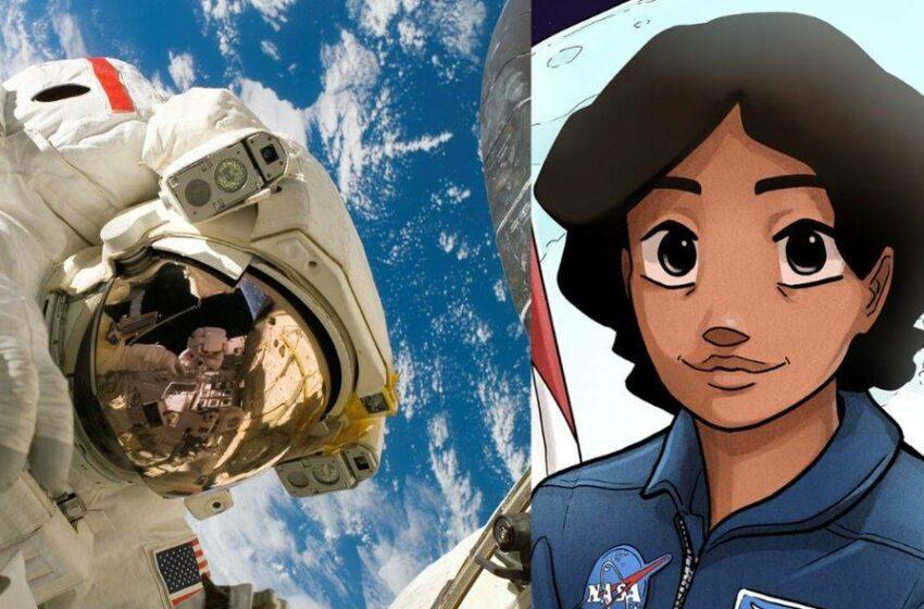 Latina será la primera mujer en pisar la Luna en cómic de la NASA