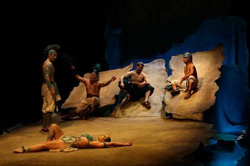 La Compañía Nacional de Teatro estrena Códice Ténoch, un soldado en cada hijo y Musas