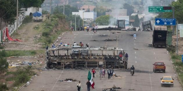 Detienen ex mandos policiales por operativo en Nochixtlán, Oaxaca