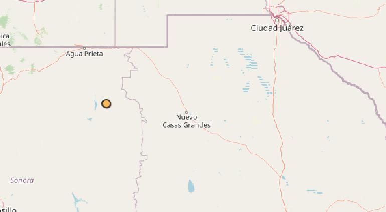 Sacudió sismo de 4.3 a Nacozari, Sonora | Puente Libre