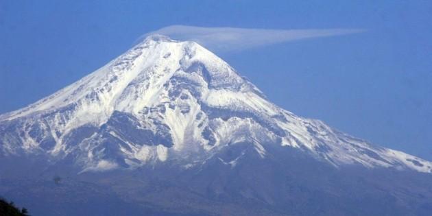 El Pico de Orizaba está en Puebla y no en Veracruz, determina Inegi