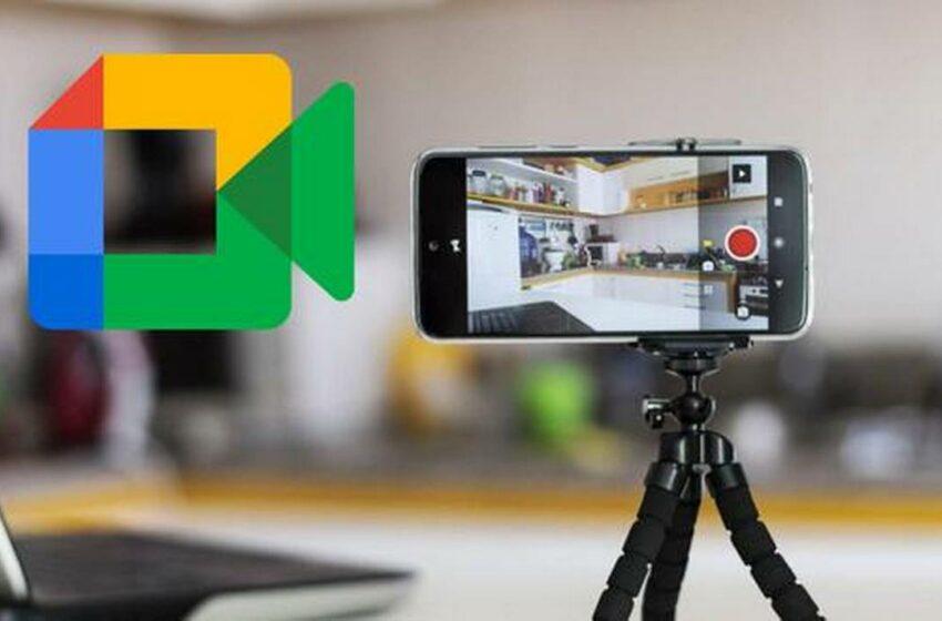 Transforma tu smartphone en una cámara web para usarla en Google Meet