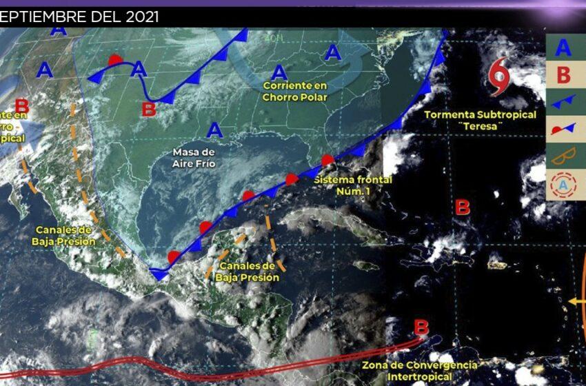 Clima en México 25 de septiembre: Lluvias intensas y fuertes vientos – TV Azteca