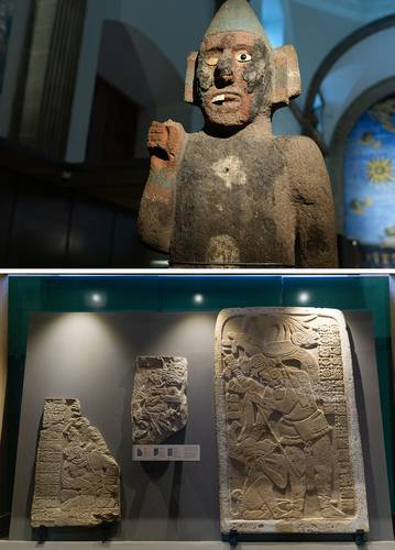 Distinguen el patrimonio repatriado para la exhibición La Grandeza de México