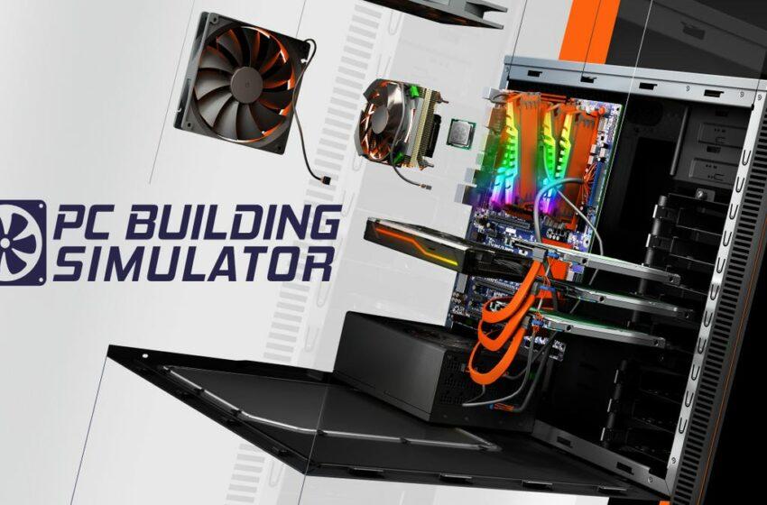 Si estás pensando en montar tu propio PC aprovecha para descargar gratis ahora PC Building Simulator
