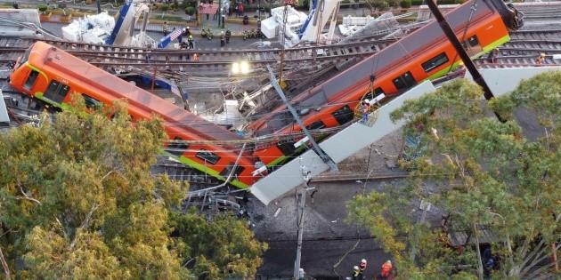 Fiscalía de CDMX revela informe del colapso en el Metro