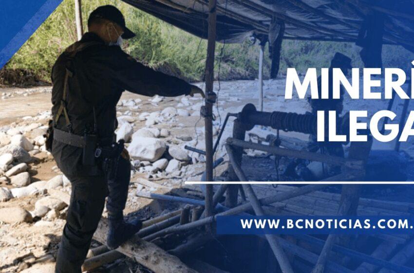 En Victoria y Supía capturaron a 15 personas por practicar minería ilegal – BC NOTICIAS