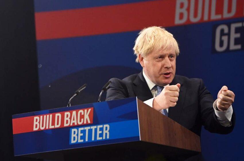 Boris Johnson defiende el renacer de la economía británica posbrexit