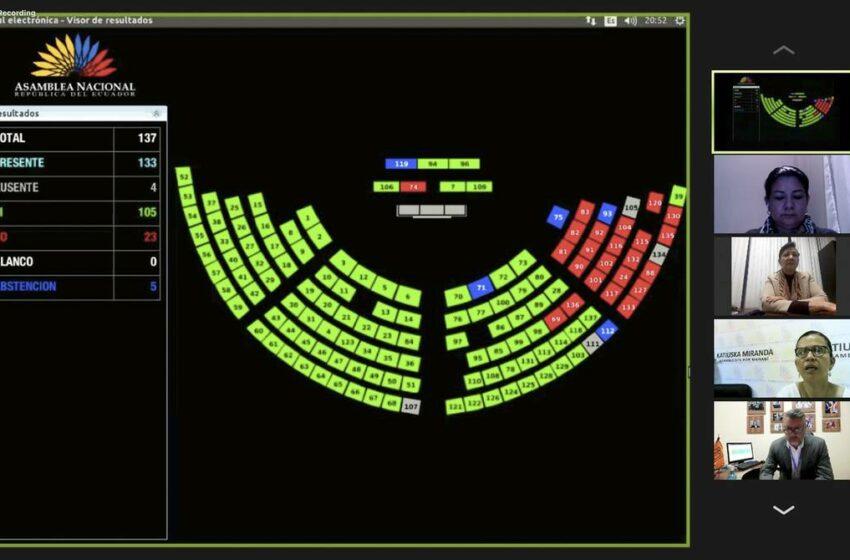 Asamblea Nacional encarga a la Comisión de Garantías Constitucionales investigar los Pandora Papers