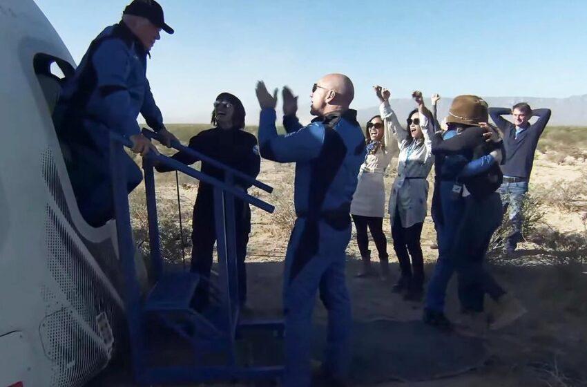 Blue Origin: Así han sido los dos viajes al espacio de la empresa de Jeff Bezos