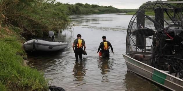 Rescatan a tres migrantes nicaragüenses en el Río Bravo