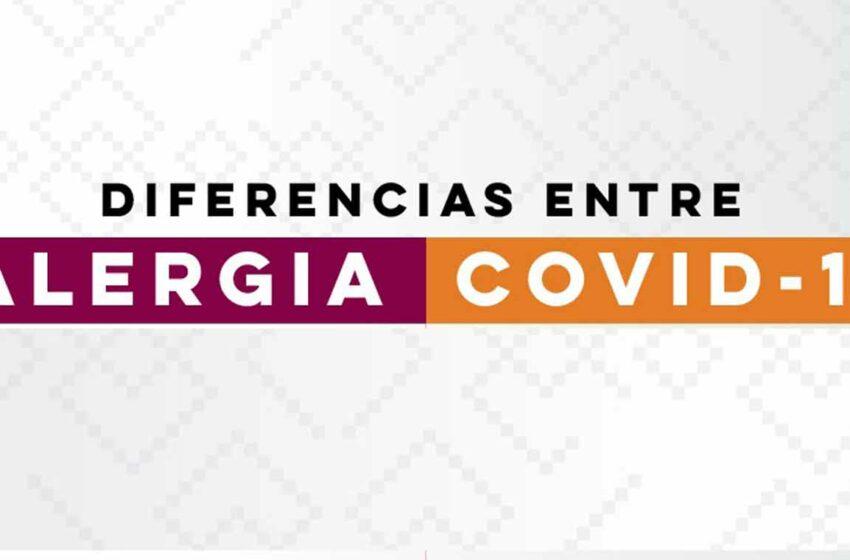 Importante diferenciar entre síntomas de alergia y de covid-19: Salud Sonora – Proyecto Puente