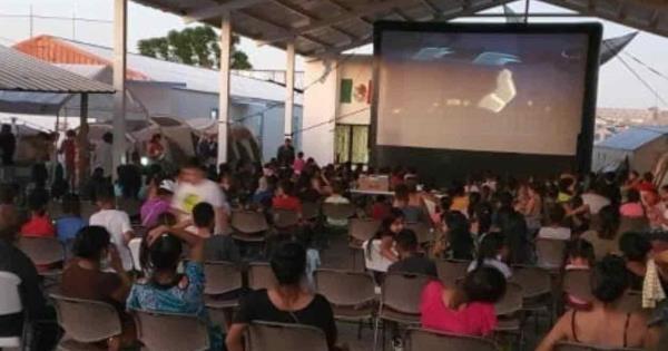 Llevan alimentos y diversión a albergue – El Mañana de Reynosa