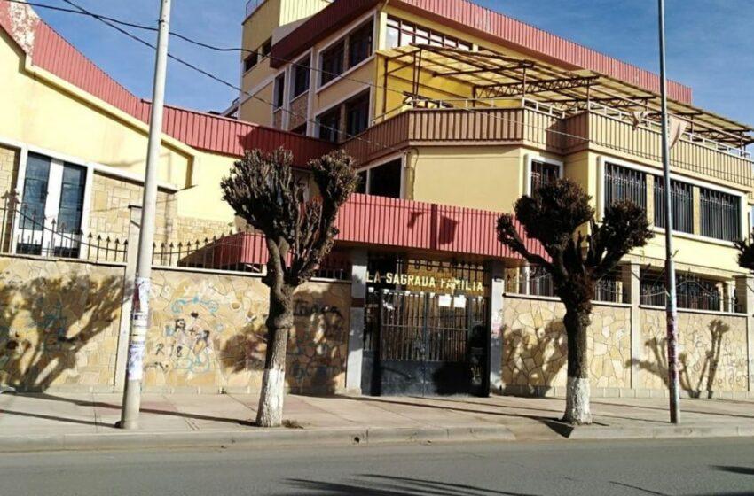 Cifra de fallecidos por Covid en asilo de Oruro sube a 16 con la muerte de dos religiosas