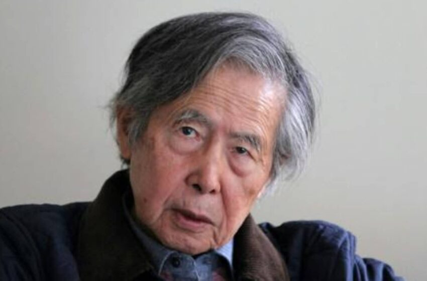 Hospitalizado por problemas respiratorios el expresidente de Perú Alberto Fujimori