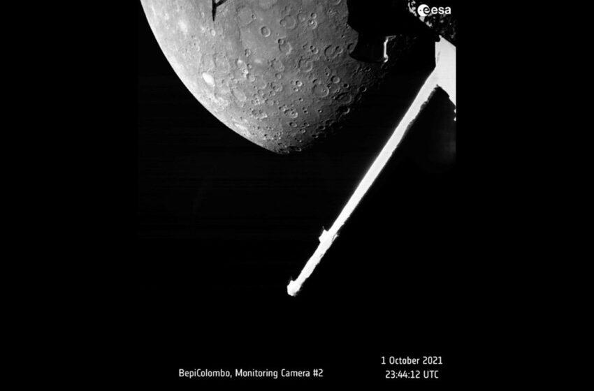 Nave espacial europeo-japonesa obtiene imagen de Mercurio