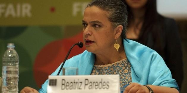 Hospitalizan a Beatriz Paredes tras sufrir accidente automovilístico