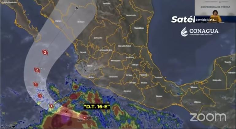 """Alerta CONAGUA por tormenta tropical """"Pamela""""; llovería en Chihuahua – Tiempo La Noticia Digital"""