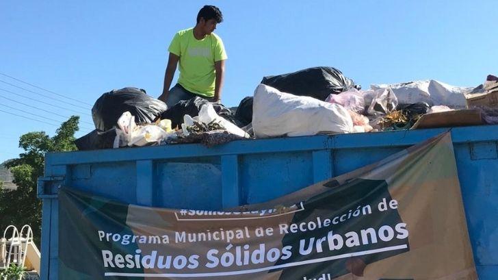 Bastan 6 horas para que los contendores de basura de Guaymas lleguen al tope – Expreso